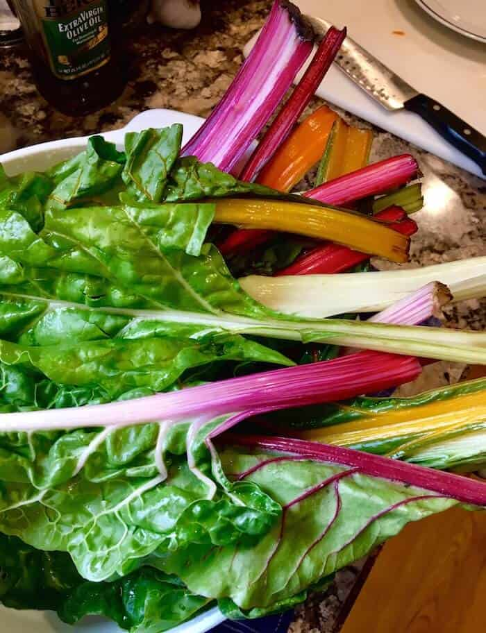 Rainbow Chard With Lemon