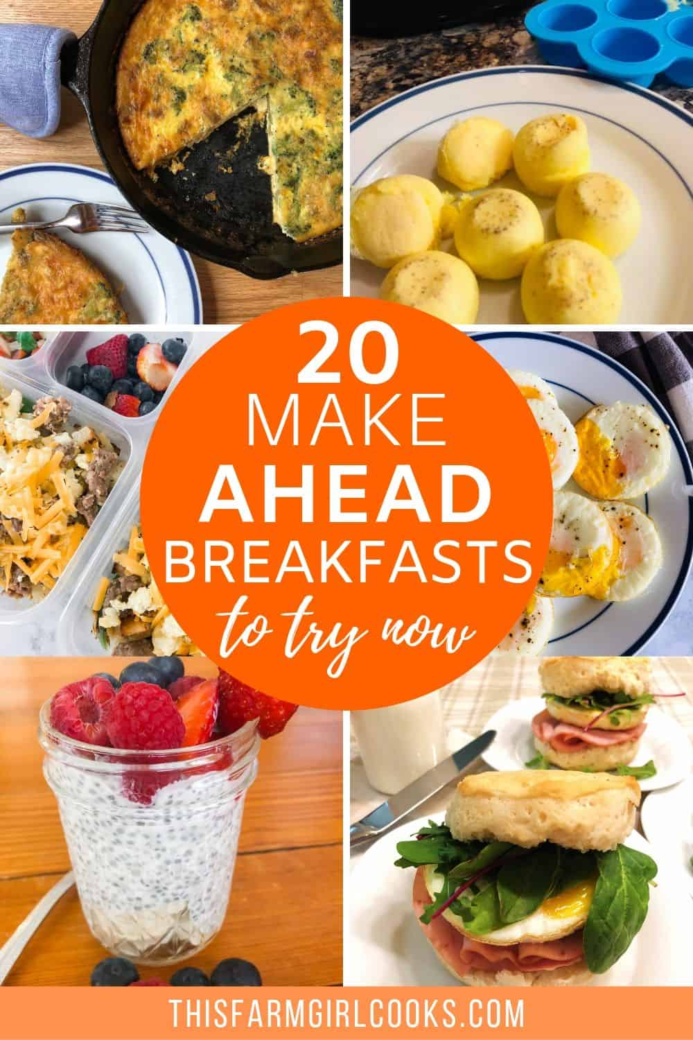 20 Make Ahead Breakfast Ideas That Will Change Your  Mornings
