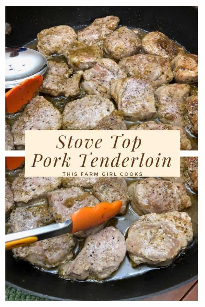 stove top pork tenderloin
