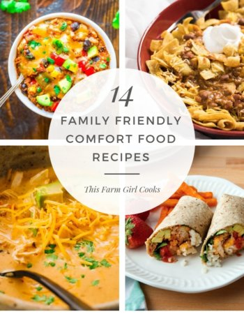 14 Family Comfort Food Recipes your family will love.