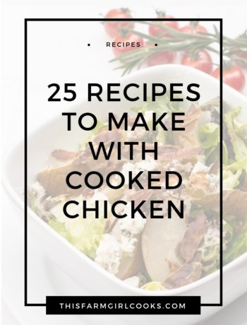 25 Awesome Recipes to Make with Cooked Chicken Website