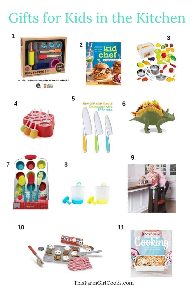 11 Best Gifts for Kids who love cooking
