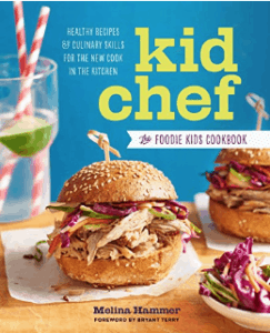 Kid Chef Cookbook for gifts for kids who like to cook