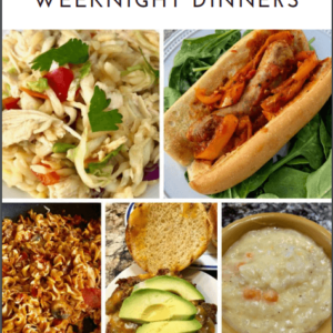 simple weeknight meals cookbook