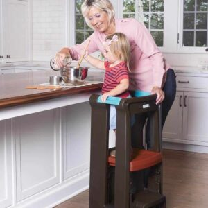 Step stool for kids who love cooking