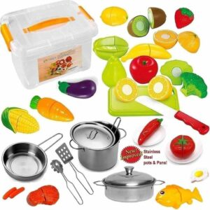 play food for kids who love cooking