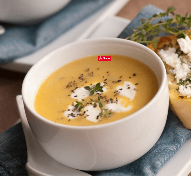 Instant Pot Butternut Squash Bisque