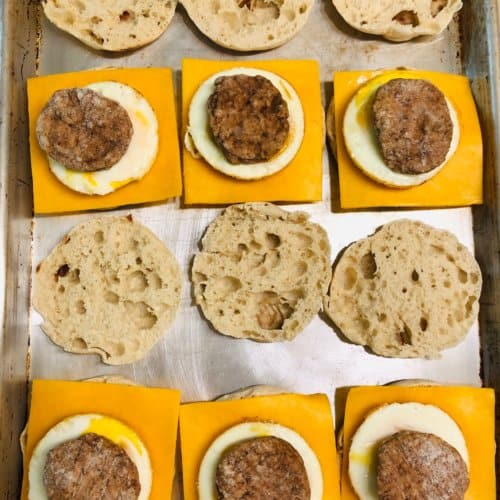 egg mcmuffin breakfast sandwich recipe