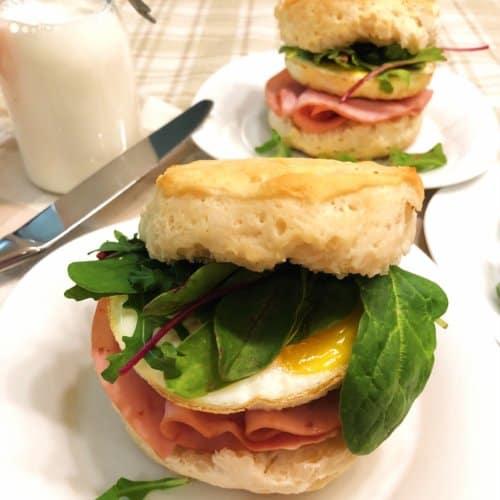 honey butter breakfast sandwiches