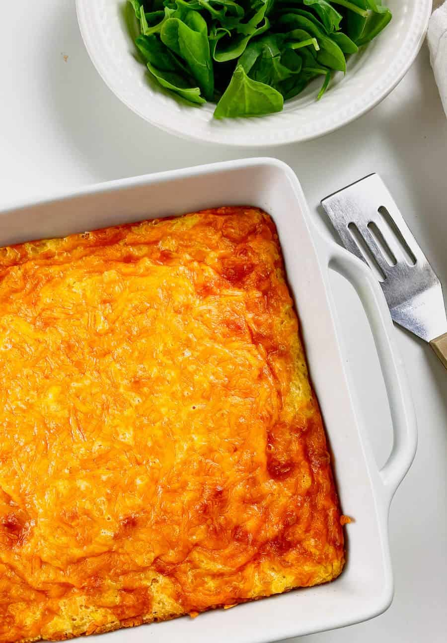 Jiffy Cheesy Corn Casserole