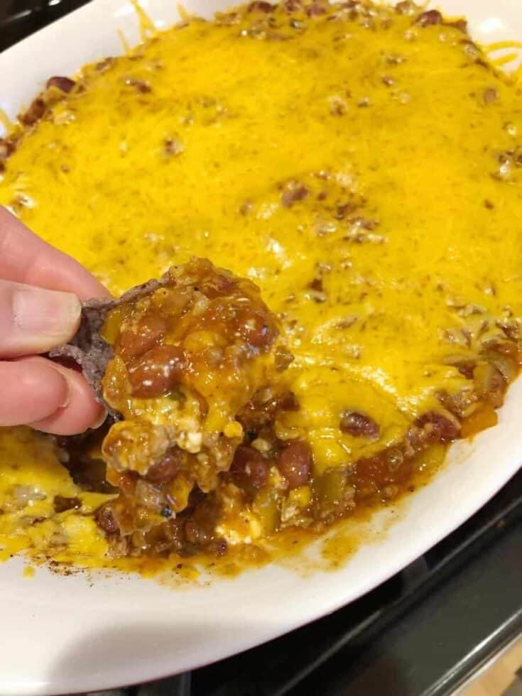 hot taco dip with ground beef