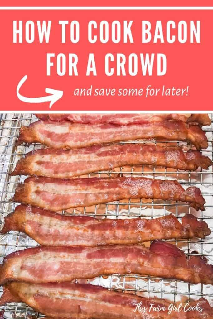 how to cook bacon for a crowd