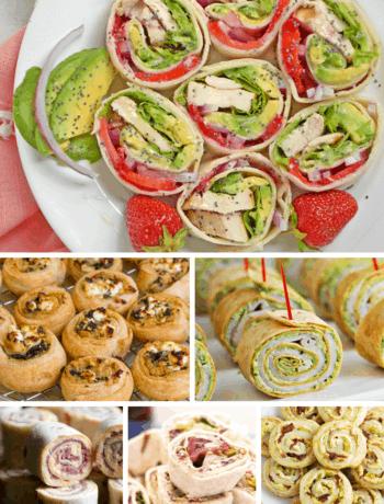 23 pinwheel lunch recipes