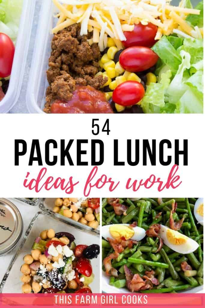 54 Cold Lunch Ideas For Work Packed Lunches Ideas