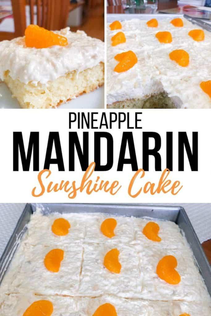 pineapple mandarin sunshine cake