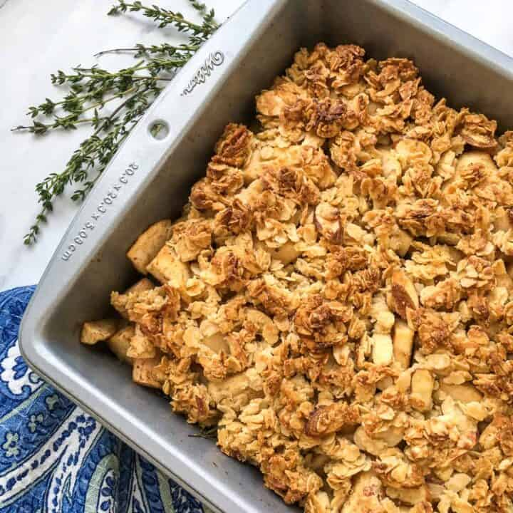 Gluten Free Apple Crisp Recipe