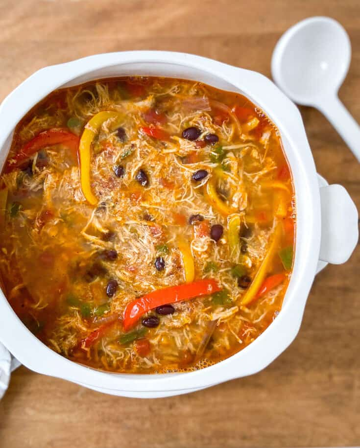 chicken fajita soup recipe 1
