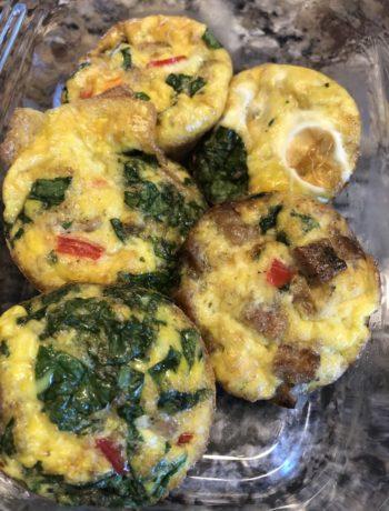 egg omelet muffins