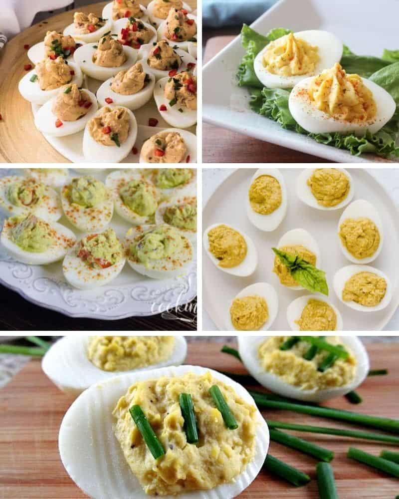 toppings for deviled eggs