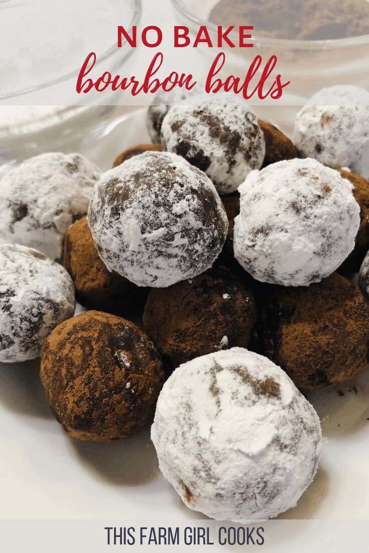 No-Bake Bourbon Balls