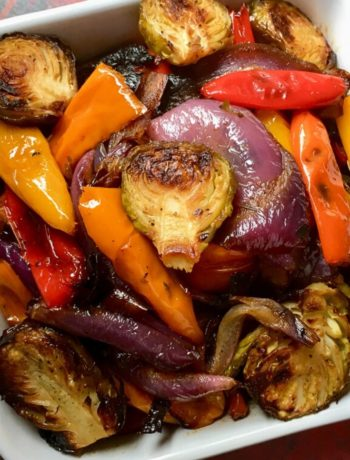 mediterranean roasted veggies