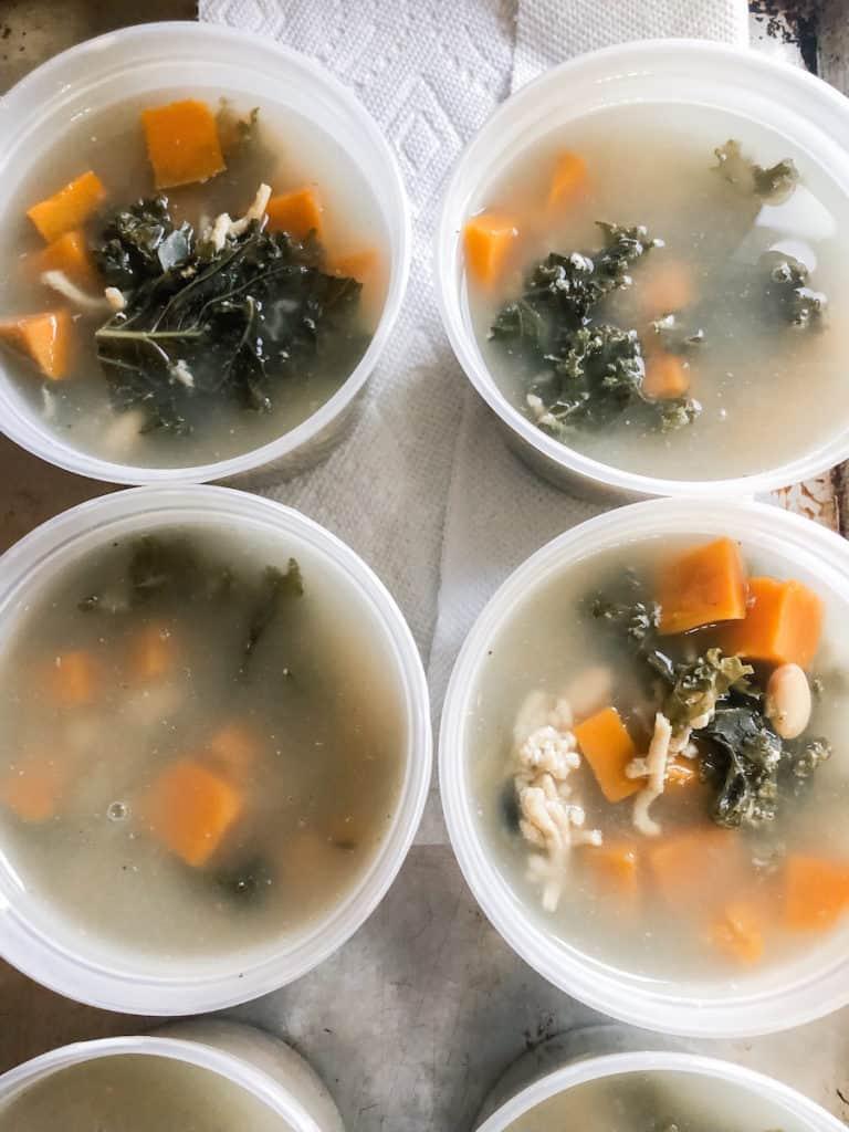 turkey kale white bean soup