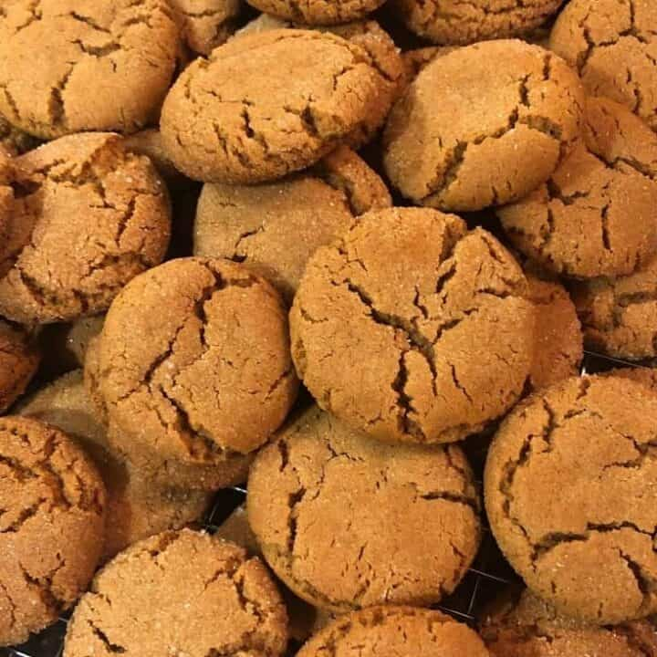 old fashioned ginger snap cookies