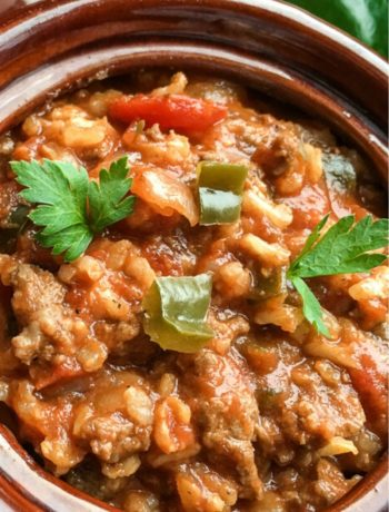 stuffed pepper soup instant pot