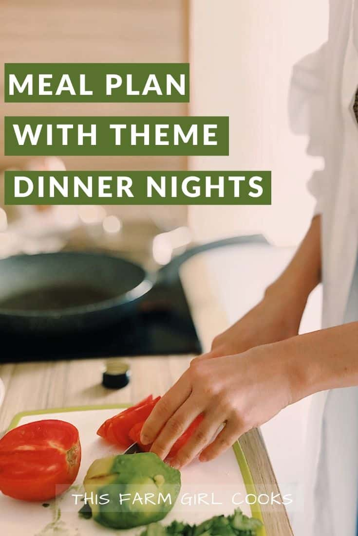 themed dinner nights