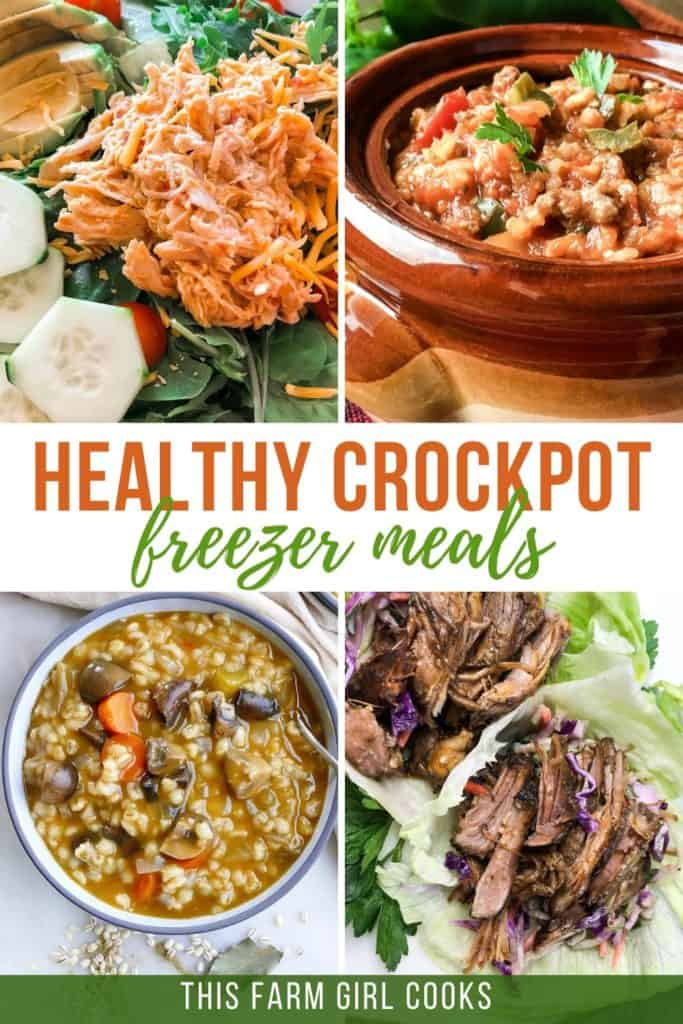 healthy crockpot freezer meals