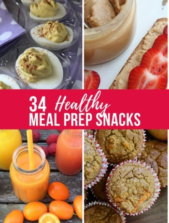 34 healthy meal prep snacks