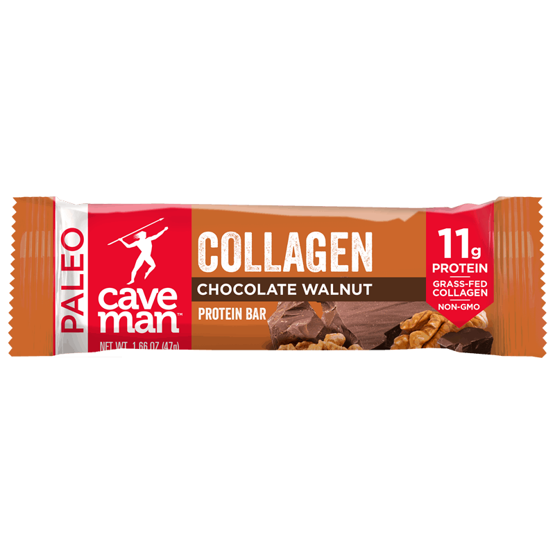 collagen infused protein bar