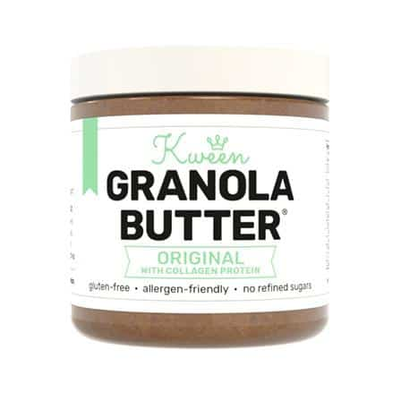 collagen infused foods granola butter