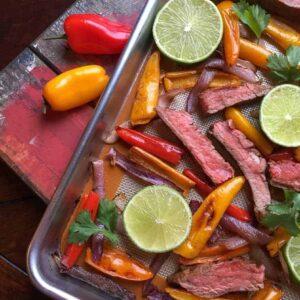 Beef Fajitas in the Oven