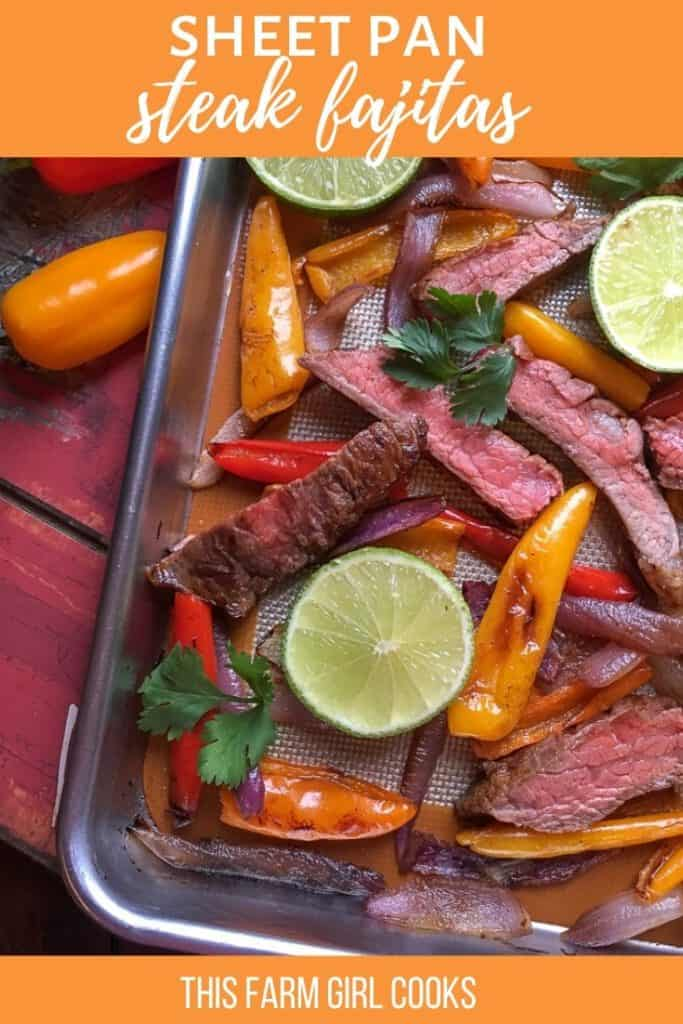 steak pan steak fajitas