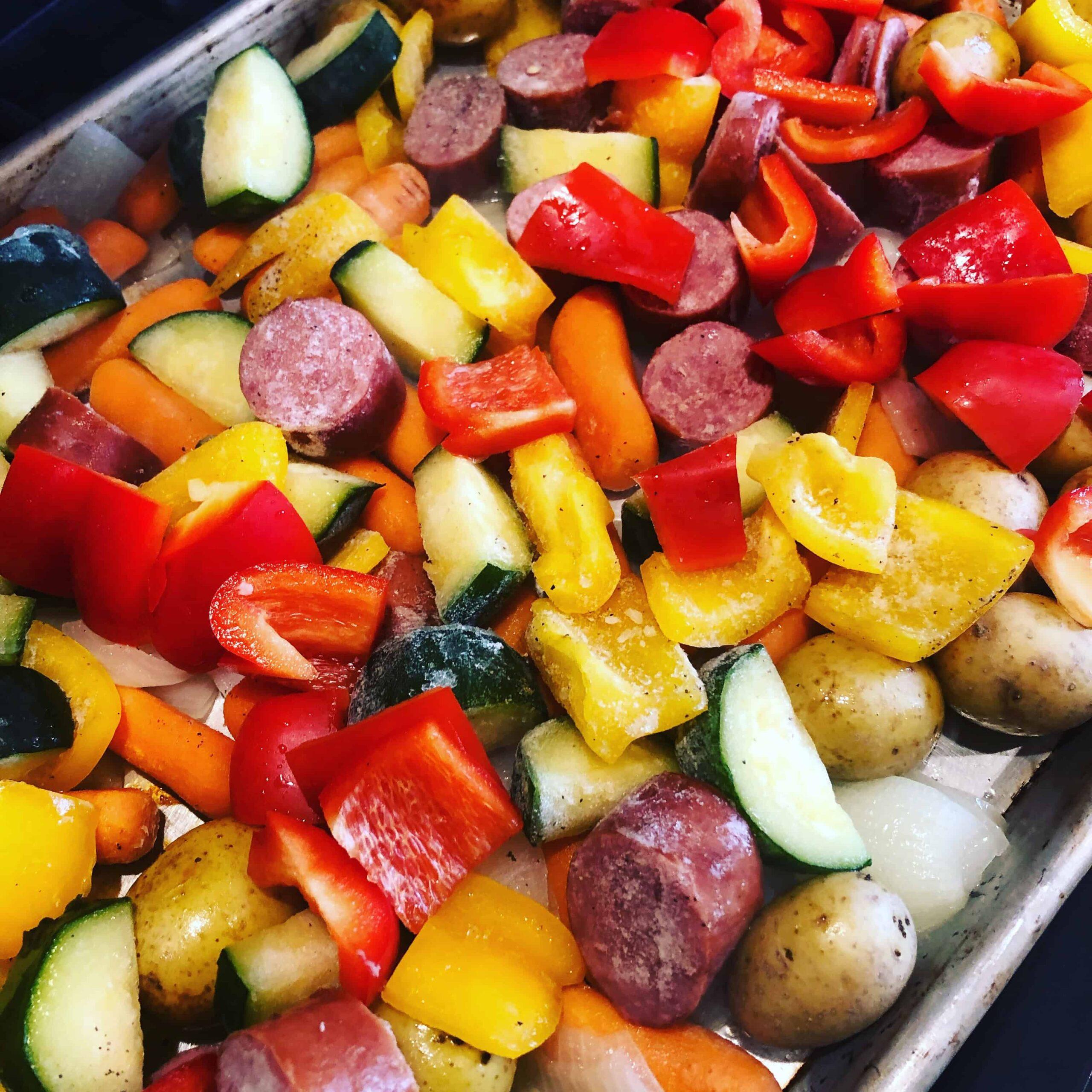 kielbasa-veggie-sheet-pan-dinner