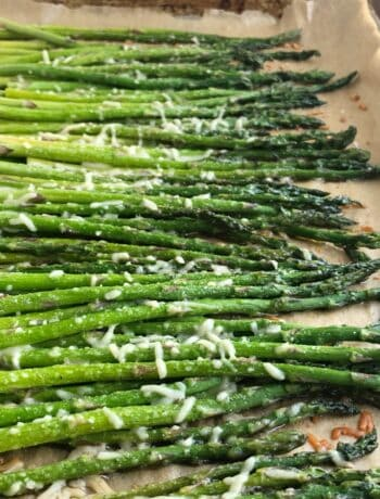 Oven Roasted Parmesan Asparagus 2