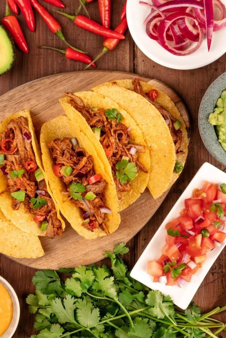 mexican fiesta menu
