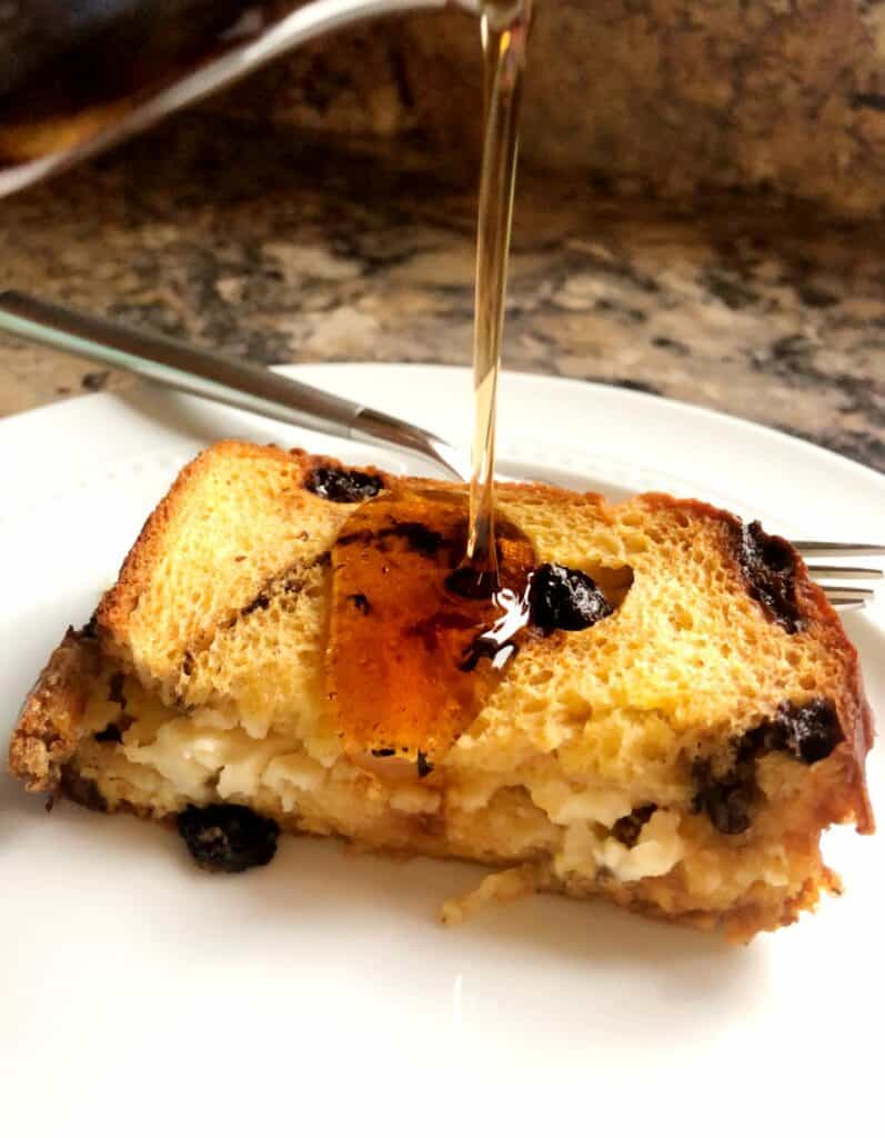 overnight french toast casserole syrup