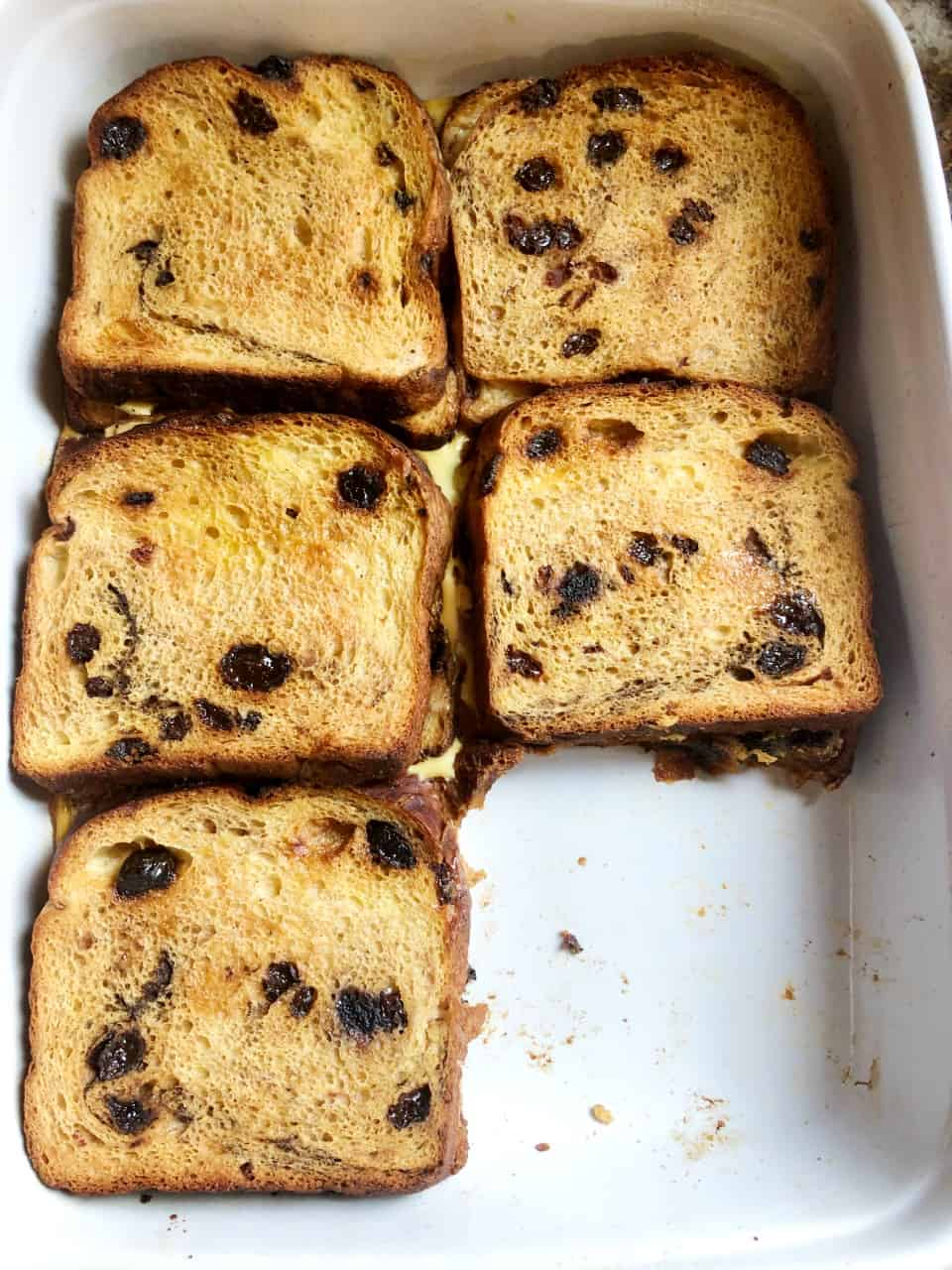 overnight stuffed french toast casserole