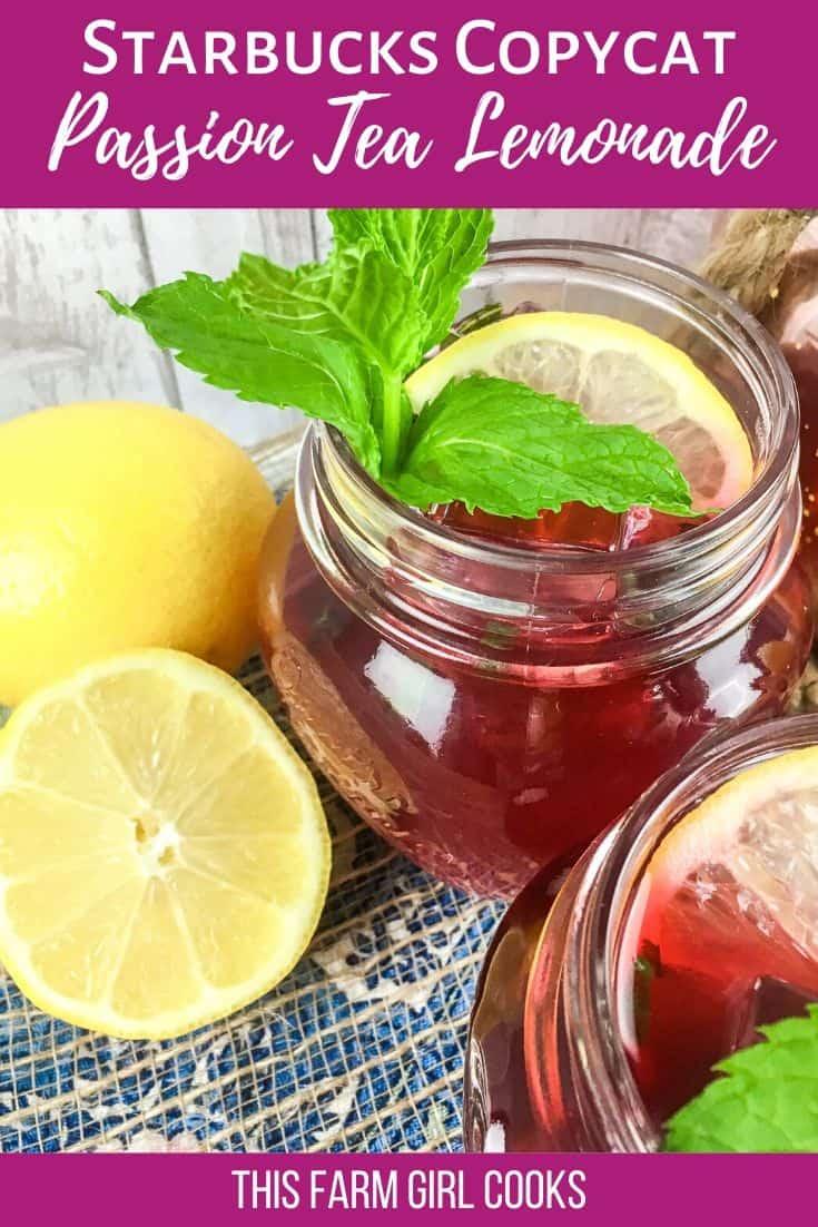 passion tea lemonade pin