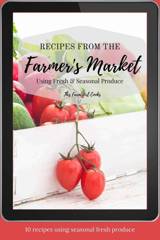 Farmers Market Ebook Promo
