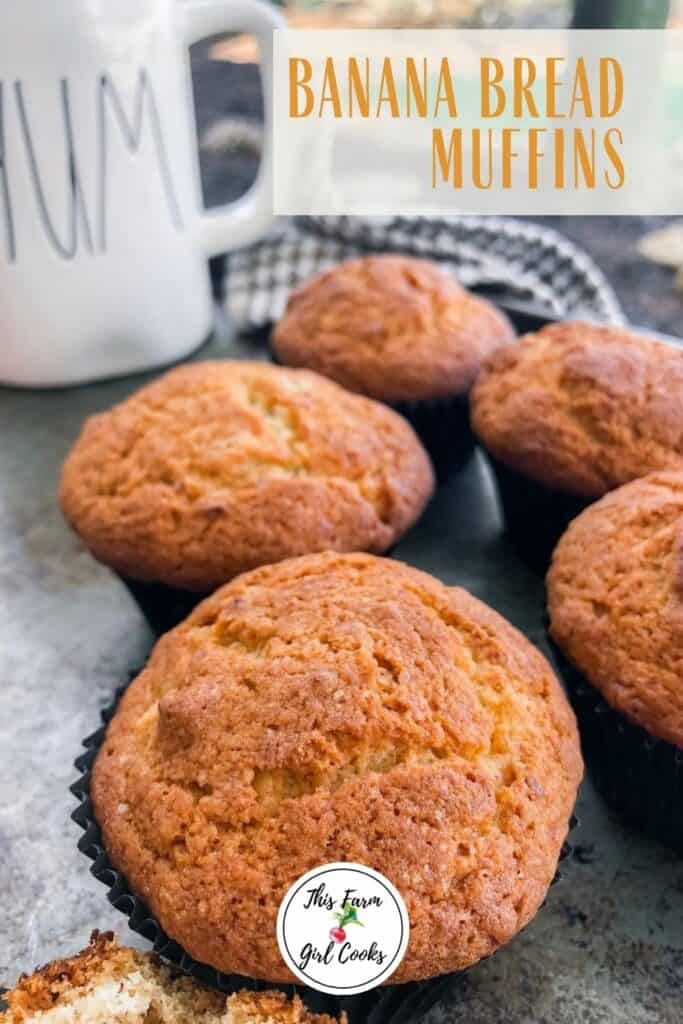 Easy Banana Bread Muffins Ready In 30 Minutes