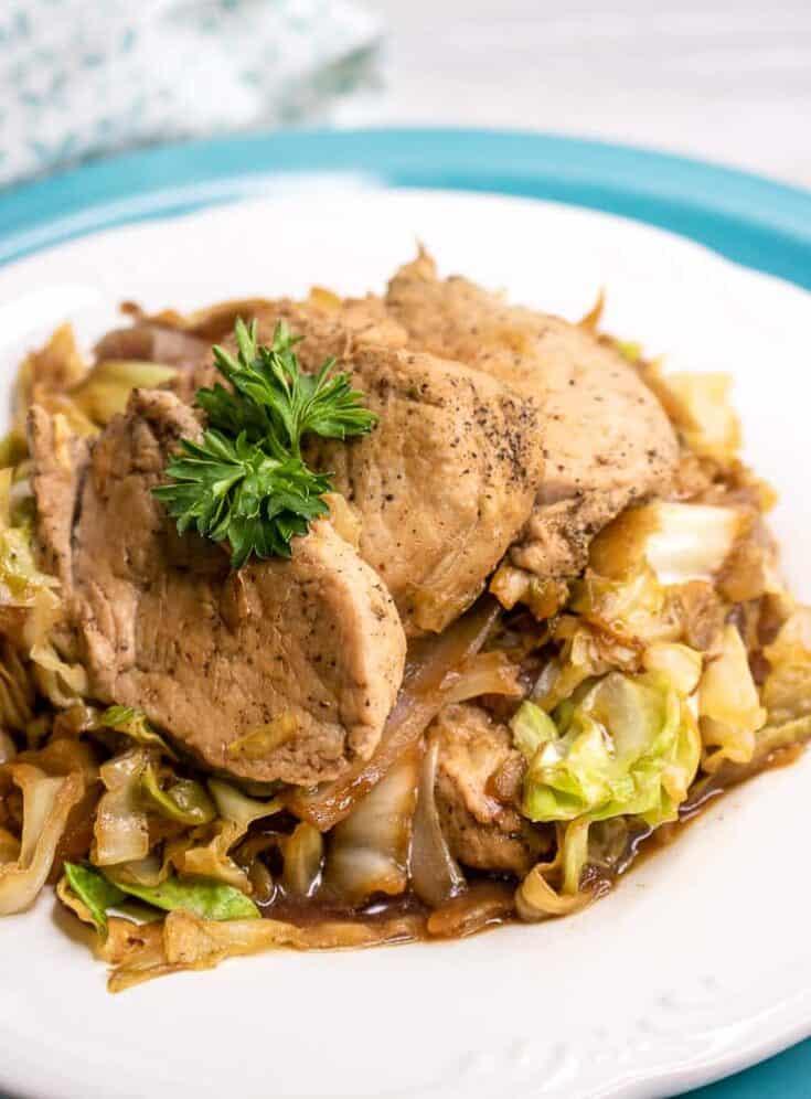 Pork Stir Fry with Cabbage