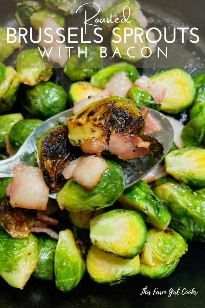 Roasted Brussels Sprouts with Bacon Recipe Pinterest