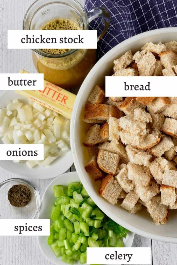 ingredients in classic stuffing