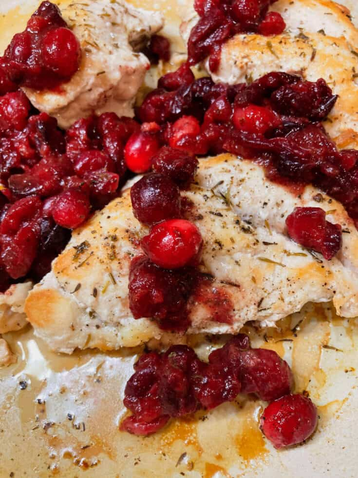 Cranberry Orange Chicken 5