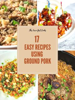 recipes using ground pork