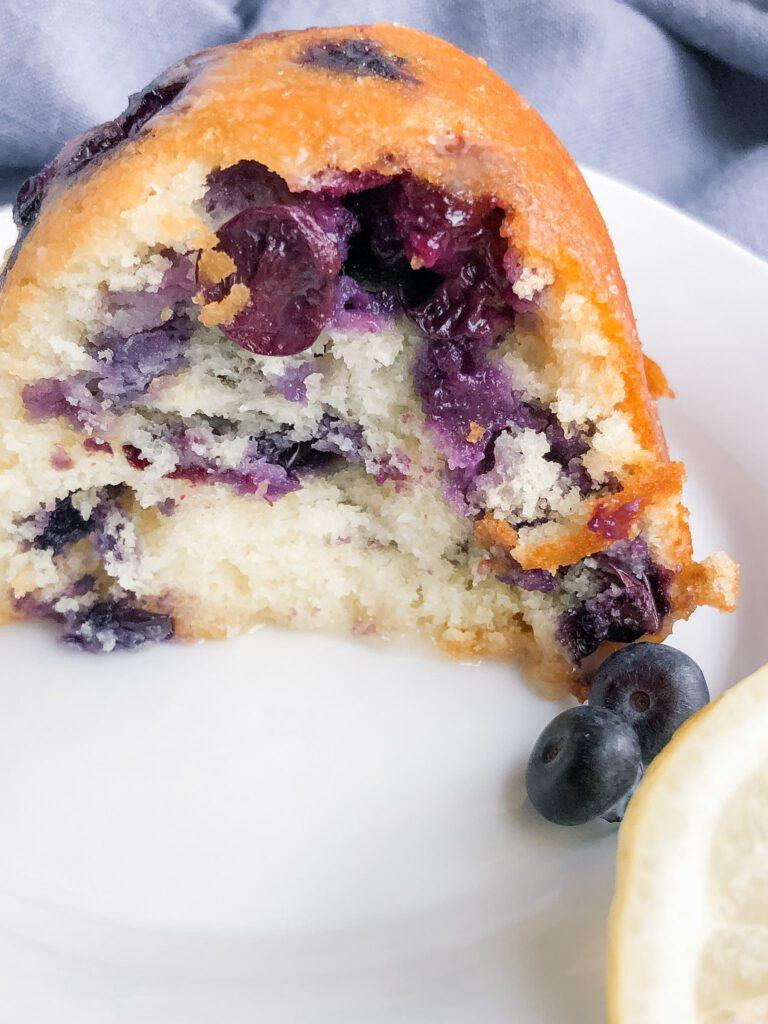 lemon blueberry cake 6