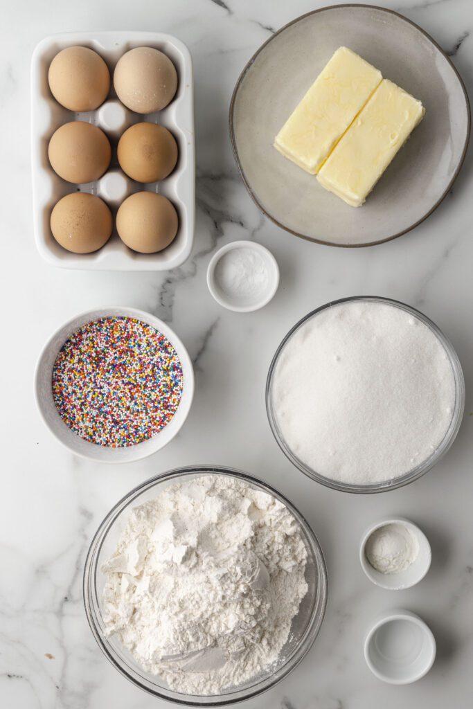 sprinkle cookie ingredients